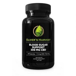 Oliver's Harvest - CBD - Dia Support 60 cap 5mg