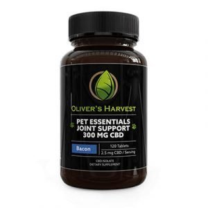 Oliver's Harvest - Pet Test Joint Support - Bacon - 120 Tablets