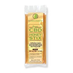 Oliver's Harvest - CBD Honey Sticks
